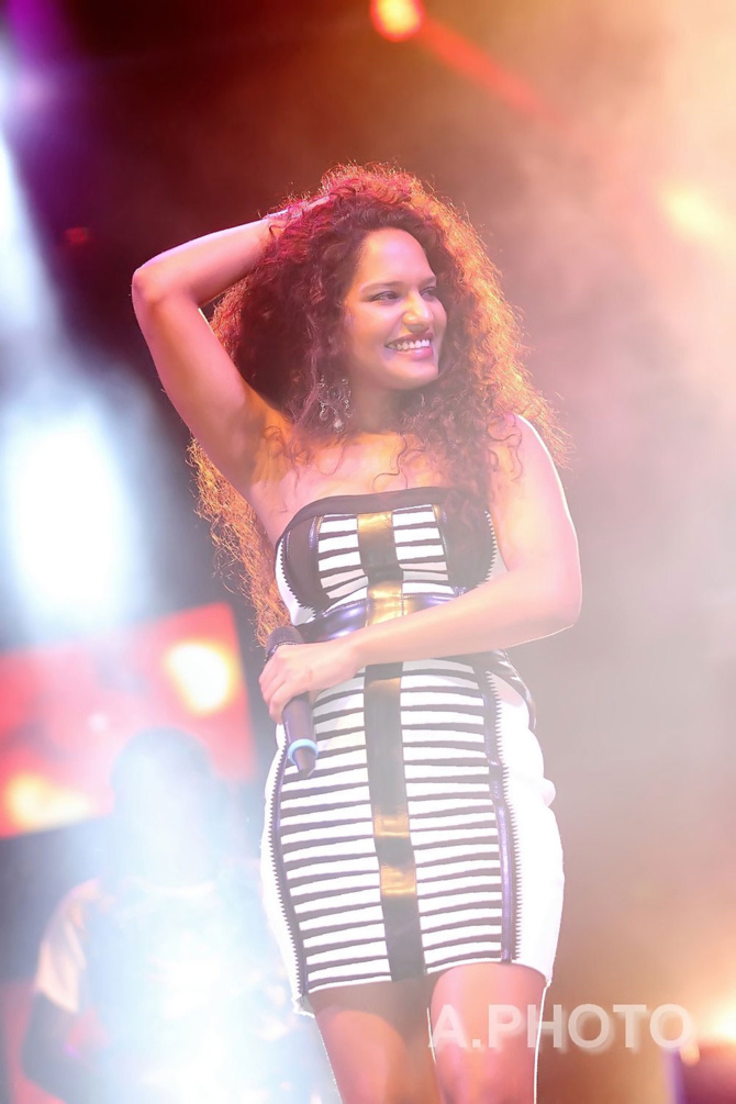 Laura Beg, la chanteuse mauricienne, a été excepionnelle!
