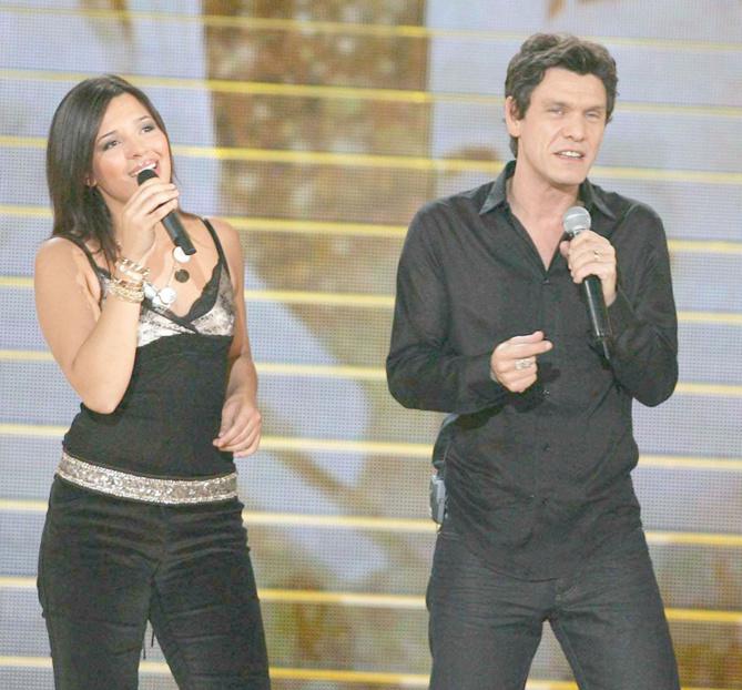 Emilie et Marc Lavoine