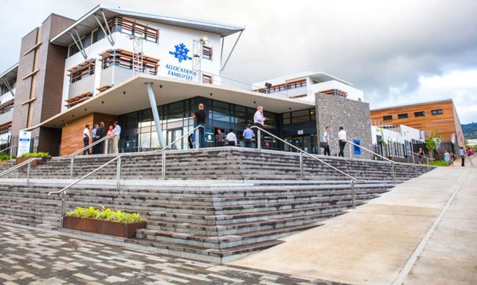 Le nouveau siège de la CAF à Beauséjour