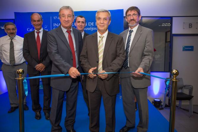 Jean-Louis Lagourgue, Jean-Charles Slama,  Ronan Boillot, Eric Marguerite, et Jean-Louis Deroussen