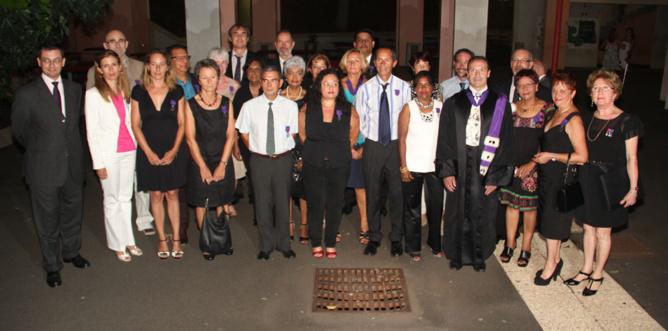 Les récipiendaires 2013, chevaliers et officiers. Ils sont cette année 22 à recevoir cette très belle distinction!