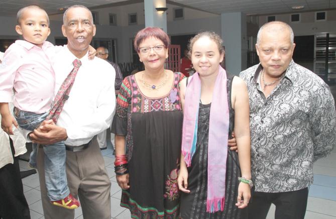 Osman et Rabia Badat, et Thierry Terret, Freddy Dambreville