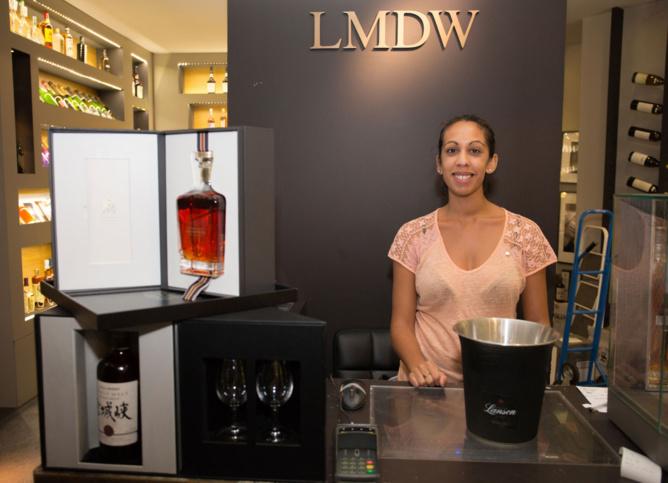 Diana, vendeuse et Back Office Marketing  à La Maison du Whisky