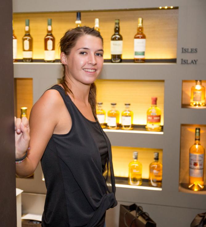 Mathilde, commerciale à  La Maison du Whisky