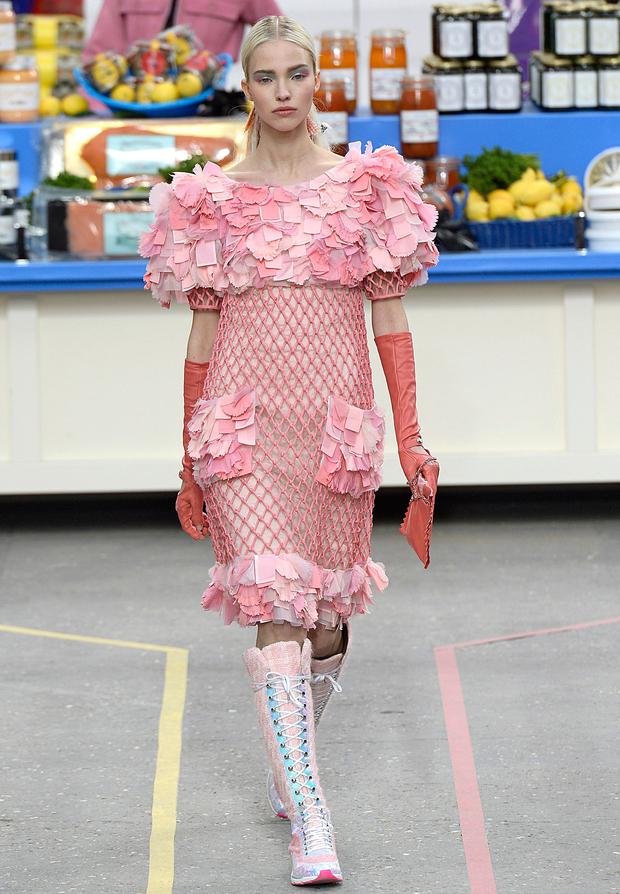 Pauline Hoarau au supermarché Chanel!