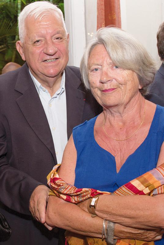 Maurice Cérisola  et son épouse Marie-Pascale