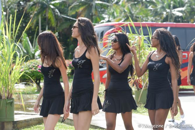 Miss Réunion 2014 - Backstage tournage