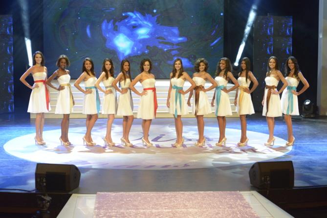 Miss Réunion 2014: La conférence de presse avant le grand jour.