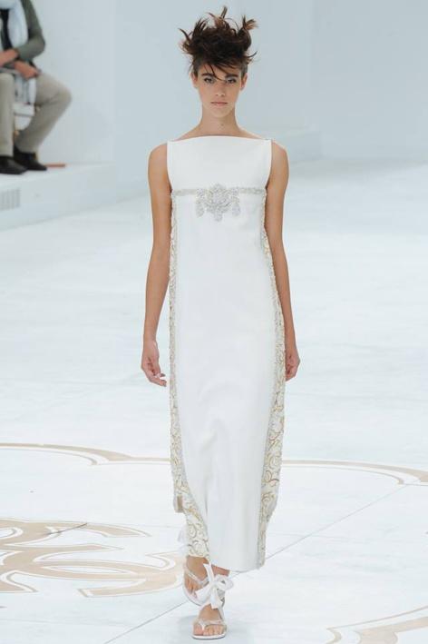 Pauline Hoarau: sur le défilé haute couture Chanel hier