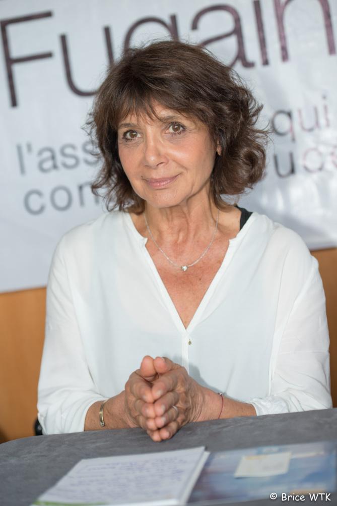 Stéphanie Fugain, présidente de l'association Laurette Fugain