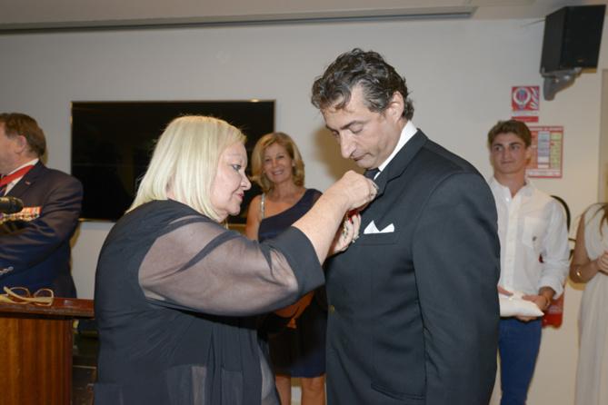 Pierre Chenard reçoit la Légion d'Honneur