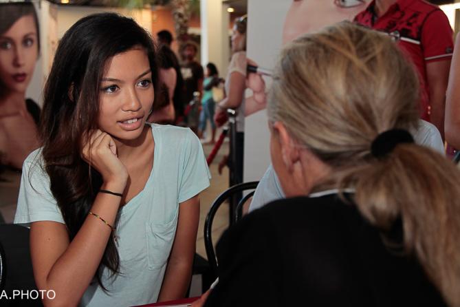 Casting Elite Model Look Réunion 2014: encore plus de monde à Sainte-Clotilde