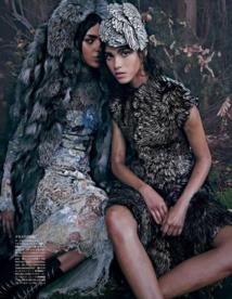 Pauline Hoarau: Des photos pour Vogue Japon