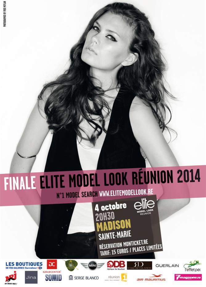 Finale Elite Model Look Réunion 2014: Réservez tout de suite...