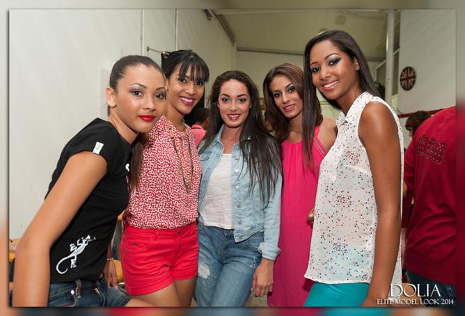 Elite Model Look Réunion 2014: les coulisses