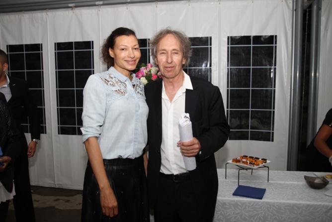 Pascal Bruckner et sa compagne