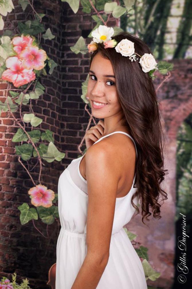 Léa Lebon - 17 ans - Terrain Elisa