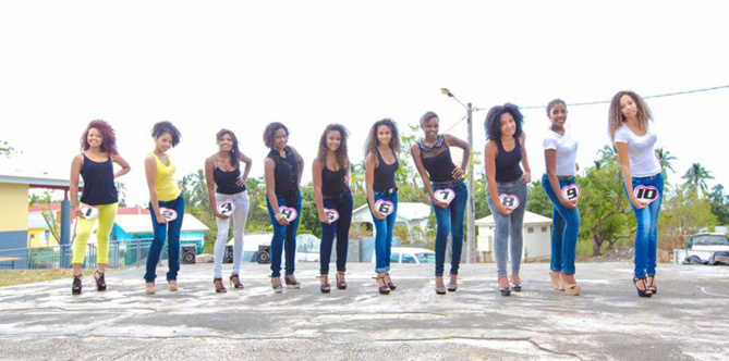 Miss Coco 2014: les 10 candidates