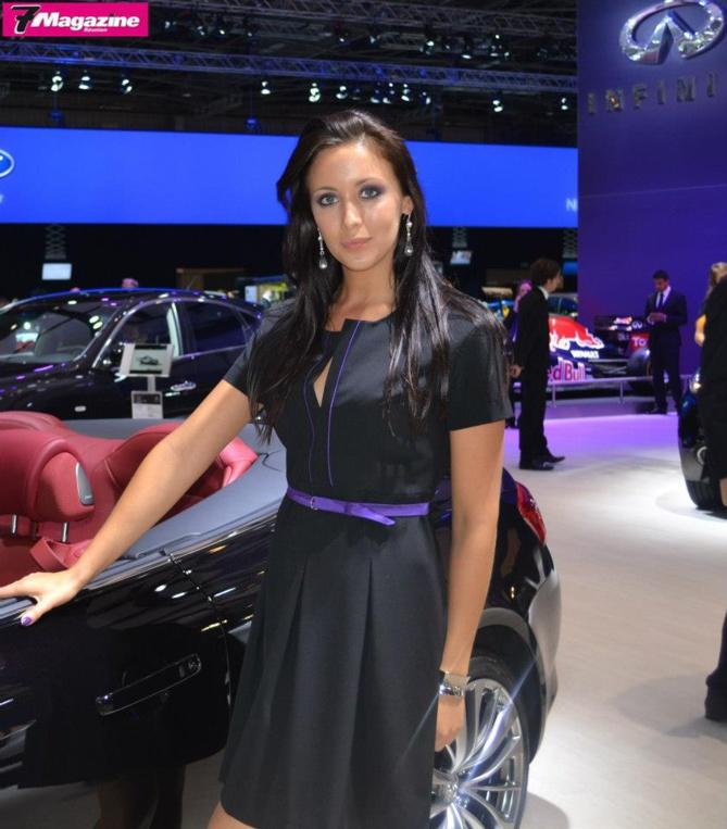 Camille Husson, hôtesse au Mondial de l'Auto : elle a vécu à La Réunion!