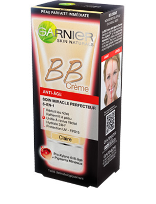 LA BB Cream Miracle Skin Perfector de Garnier est disponible en grandes surfaces
