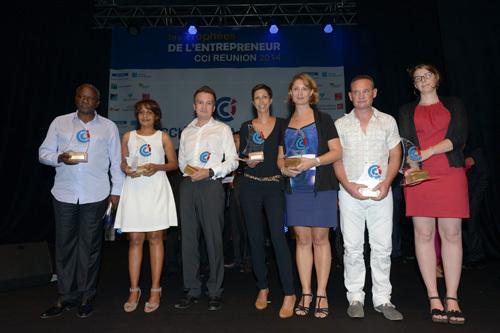 Les Lauréats des 2ème Trophées de l'Entrepreneur 2014