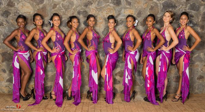 Miss Saint-Leu 2014 <br>Les 10 candidates