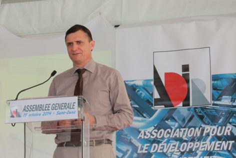 Jérôme Isautier, président de l'ADIR