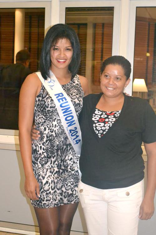 Miss Réunion: son départ pour Miss France...