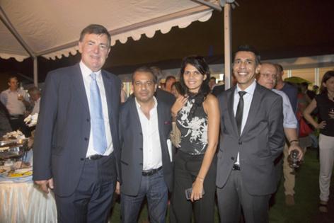 Jean-Pierre Philibert, Samia Karam, et Younous Omarjee