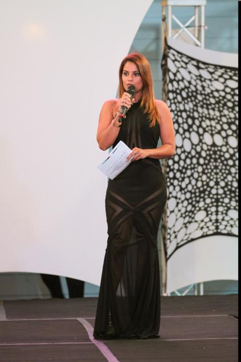 Katiana Castelnau, la maîtresse de cérémonie