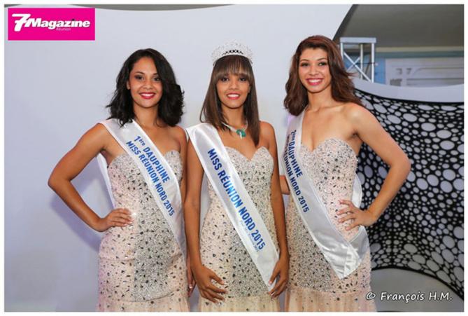 Miss Réunion Nord Vanessa Robert, première qualifiée