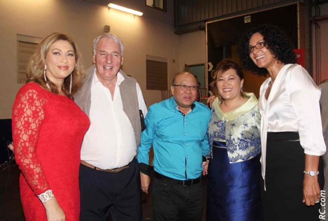 Géraldine Bellevenue, esthéticienne, Roger Hyesse, retraité, Joseph Chong Fah Sheng, Nathalie Vi-Tong, et Nathalie Bassire, conseillère générale