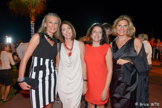 Catherine Ronin de 7 Magazine, Véronique Cegretin, Elisabeth Guillot et Laurence Haggai