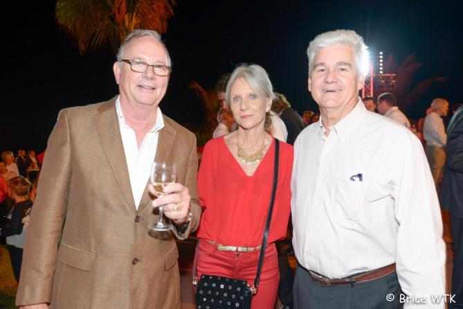 Bertrand Le Juge, Bénédicte et Jacques de Virginy, directeur des Galeries Carrefour