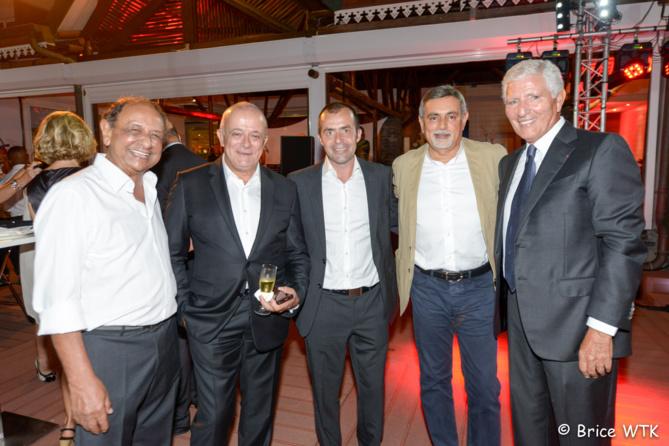 Abdé-Aly Goulamaly, Jean-Michel Hégésippe, Yann de Prince, Youssouf Mohamed et Jean-Pierre Haggai