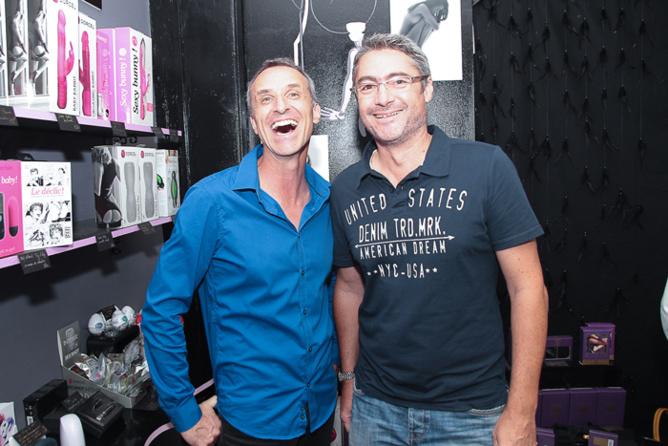 François Heurtebize et son ami Largo, photographe