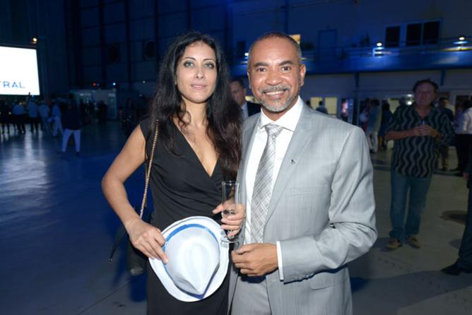 Dominique Dufour, secrétaire général d'Air Austral et Myriam Tekouk, directrice financière du Casino de Saint-Denis