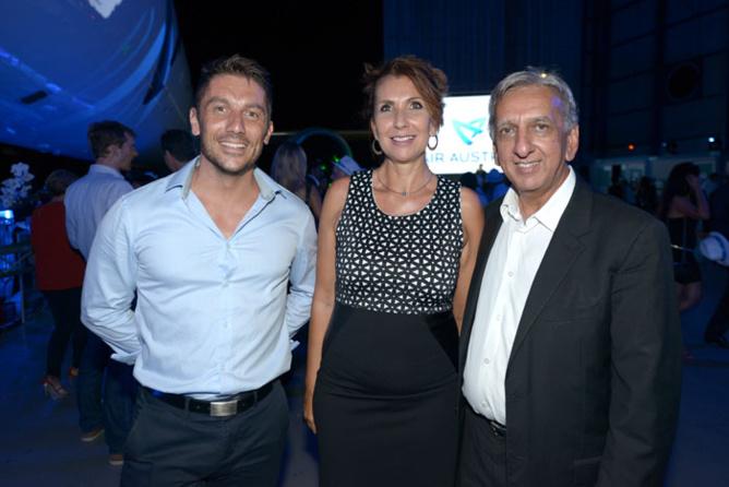 Sébastien Gautrais, directeur d'Ekwalis Saint-Denis,Ariane Loupy directrice de l'IRT et Aziz Patel