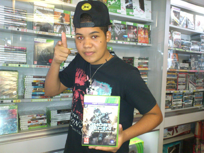 Jonathan Mofy a gagné GHOST RECON: FUTUR SOLDIER sur Xbox 360