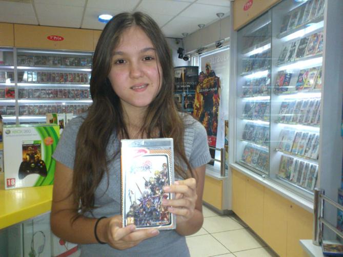 Noémie Damour a gagné DISSIDIA FINAL FANTASY sur PSP