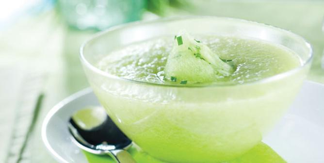 Soupe aux melons <br>Minceur-Rétention d'eau-Digestion-Fatigue