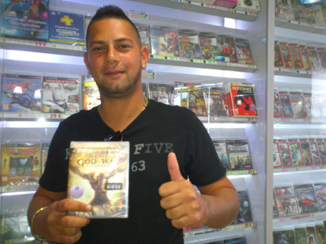 Nicolas Oozeer a gagné GOD OF WAR ASCENSION sur Playstation3