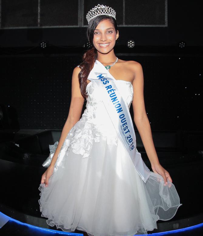 Farida est qualifiée pour Miss Réunion 2015