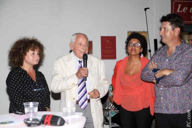 Isabelle Paris Grosset, Jean Marie Dupuis, Dominique Payet, et Bruno Sausseau