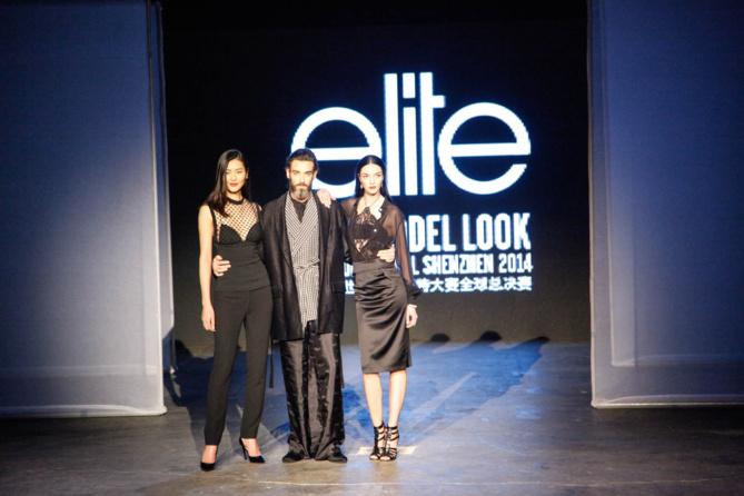 Des stars de l'agence sont venues: la chinoise Liu Wen égérie de Lancôme et Mariacarla Boscono