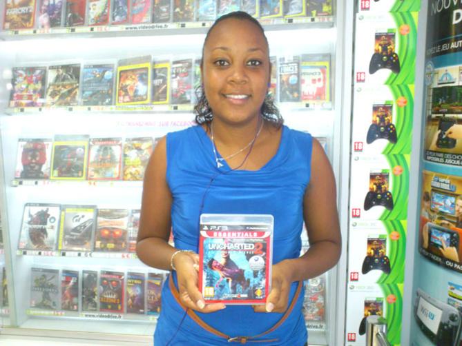 Aurélie Ducap a gagné UNCHARTED 2 sur Playstation 3