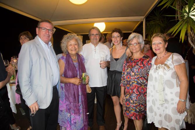 Dominique Fournel, Claudine Cazaubon, Jean-Claude Cazaubon, Mlle Iglicki, Marie-Renée Fournel, et Christine Iglicki