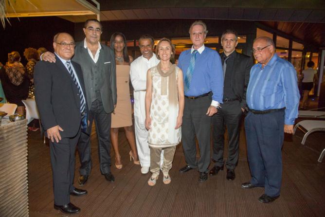 Mr Cazanova, Thierry Rossi, Mr Valery et son épouse, Brenda Guidi, Amédée Louis-Fernand, Thierry Pontillot, et Monsieur Bègue