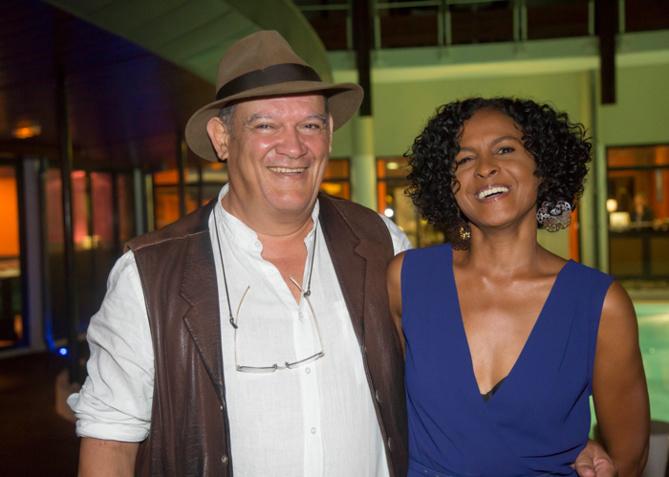 Joël Manglou et Renée Fages