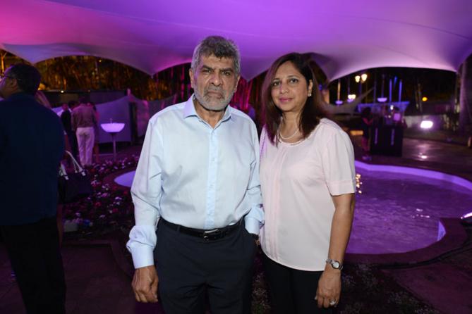 Adam Ravate, directeur général des Etablissements Ravate et son épouse Yasmine
